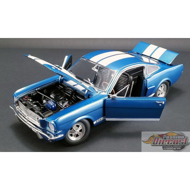 Whipple Supercharger Shelby Gt350: SHELBY GT350 SUPERCHARGED 1966 BLUE ACME 1/18 A1801834