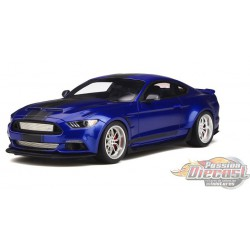 Ford Shelby GT-350  Widebody   Bleu GT SPIRIT  GT238  Passion Diecast