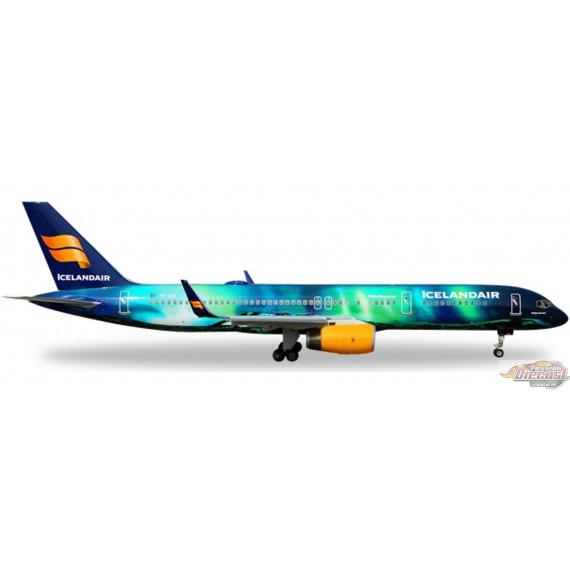 Icelandair Boeing 757-200  Hekla Aurora Herpa 1/400  562539  Passion Diecast