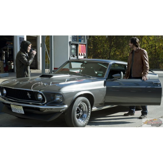 1969 Ford Mustang BOSS 429 - John Wick 1/18 HWY 61 18016 Passion Diecast