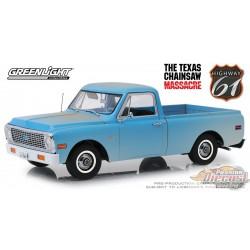 Chevrolet C-10 1971 - Massacre à la tronçonneuse Texas 1/18 HWY 61  18014 Passion Diecast