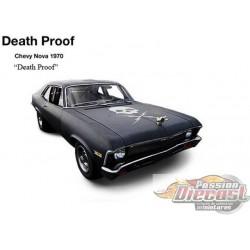 1971 Chevrolet Nova  Film d'horreur Death Proof, 1/18 GMP 18925  Passion Diecast