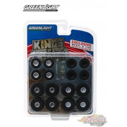 Kings of Crunch Wheel & Tire Pack  (Hobby Exclusive)  1/64 Greenlingt 13166  Passion Diecast