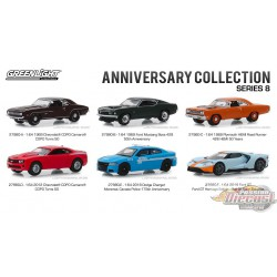 Anniversary Collection Series 8  Assortment  1-64 greenlight 27980 Passion Diecast