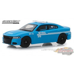 2018 Dodge Charger - Montreal, Canada Police 175th Anniversary 1-64 greenlight 27980 E Passion Diecast