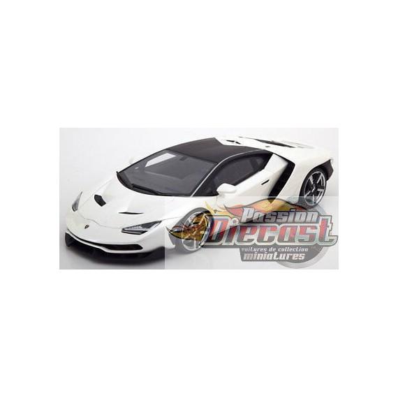 Lamborghini Centenario Solid White Autoart 1 18 79111