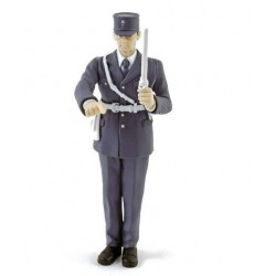 Policeman Figurine of Circulation - 1968 American Diorama 1/18 AD 140506   Passion Diecast