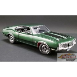 OLDSMOBILE 442 W30 1970 - SHERWOOD GREEN ACME 1/18 A1805612 Passion Diecast