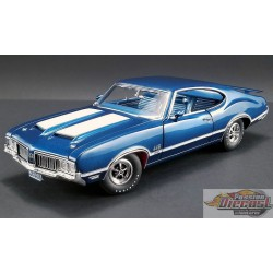 OLDSMOBILE 442 W30 1970 -TWIGHLIGHT BLUE  ACME 1/18  A1805611 Passion Diecast