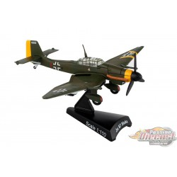 Junkers Ju 87  Stuka  Postage Stamp  1/110  PS5339-4  Passion Diecast