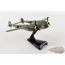 Lockheed P-38 Lightning 23 SKIDOO Postage Stamp  1/115 PS5362-4 Passion Diecast