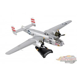 North American B-25 J  Mitchell Panchito Postage Stamp  1/100 PS5403-4 Passion Diecast