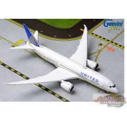 United Airlines  Boeing 787-8  Dreamliner N27908  Gemini   1/400  GJUAL1790 Passion Diecast