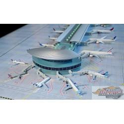 Terminal d'aéroport de luxe  Rotonde double  Gemini 1/400 GJARPTC Passion Diecast