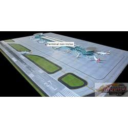 Tapis Aéroportuaire Deluxe pour le nouveau terminal  Gemini 1/400 GJAPS008 Passion Diecast