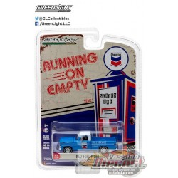 1972 Ford F-100 - Chevron  Running on Empty Series 1 Greenlight 1:64    41010 F Passion Diecast