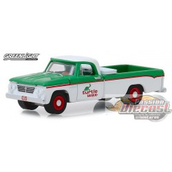 1962 Dodge D-100 - Turtle Wax  Running on Empty Series 7  Greenlight 1/64 41070 B   Passion Diecast