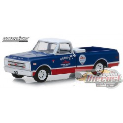 1968 Chevrolet C-10 - Chevron  Running on Empty Series 7  Greenlight 1/64 41070 C Passion Diecast
