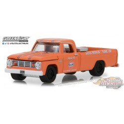 1965 Dodge D-100 - Gulf Auto Repair & Tune-Up -  Running on Empty 6 Greenlight 1/64  41060 B Passion Diecast