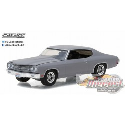 1970 Chevrolet Chevelle SS Primer Grey  GL Muscle Series 17 Greenlight 1/64  13170 C Passion Diecast