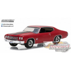1970 Chevrolet Chevelle SS Red  GL Muscle  17 Greenlight 1/64  13170 D Passion Diecast