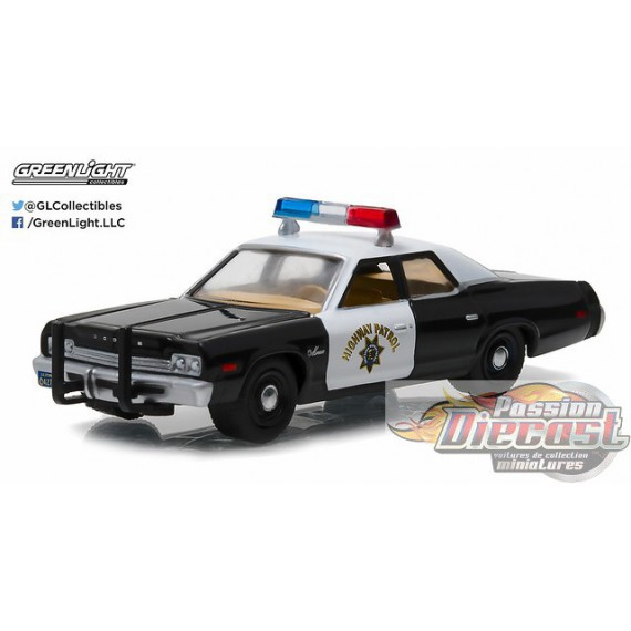 1974 Dodge Monaco - California Highway Patrol  HOT PURSUIT SERIES 21 Greenlight 1/64 42780 A Passion Diecast