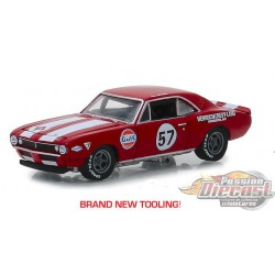 1967 Chevrolet Camaro Z-28 57 Heinrich Chevy-Land GL Muscle series 20 Greenlight  1/64 13210 A Passion diecast