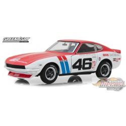 1970 Datsun 240Z - BRE no46 - Brock Racing Enterprises  Greenlight 1/24 18301 Passion Diecast