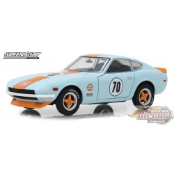 1970 Datsun 240Z - Gulf Oil   Greenlight 1/24 18302  Passion Diecast