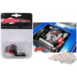 Chevrolet   engine and transmission Modified Big Block   GMP 1/18  18878  Passion Diecast