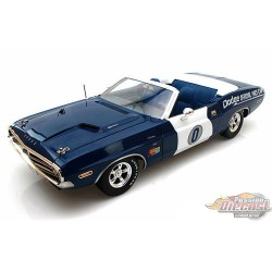 1971 Dodge Challenger RT Convertible  0 OFFICAL PACE CAR ONTARIO MOTOR SPEEDWAY   Greenlight 12871 Passion Diecast