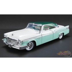 1956 CHRYSLER NEW YORKER ST. REGIS  Green and White  ACME  A1809003 Passion Diecast
