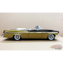 1956 Chrysler New Yorker St. Regis Convertible in Gold and  Black  ACME 1/18  A18090043 Passion Diecast