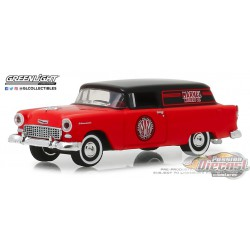 1955 Chevrolet Sedan Delivery - Marvel Mystery Oil Blue Collar  Series 5 Greenlight 35120 A 1/64  Passion Diecast