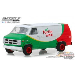 1983 GMC Vandura - Turtle Wax  Blue Collar  Series 5 Greenlight 35120 E  1/64  Passion Diecast