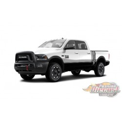 Dodge Ram 2500 Power Wagon 2017  Blanc GT SPIRIT  GT790 Passion Diecast
