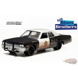 "1974 Dodge Monaco ""Bluesmobile - Blues Brothers Greenlight 1/64 44710  C Passion Diecast"