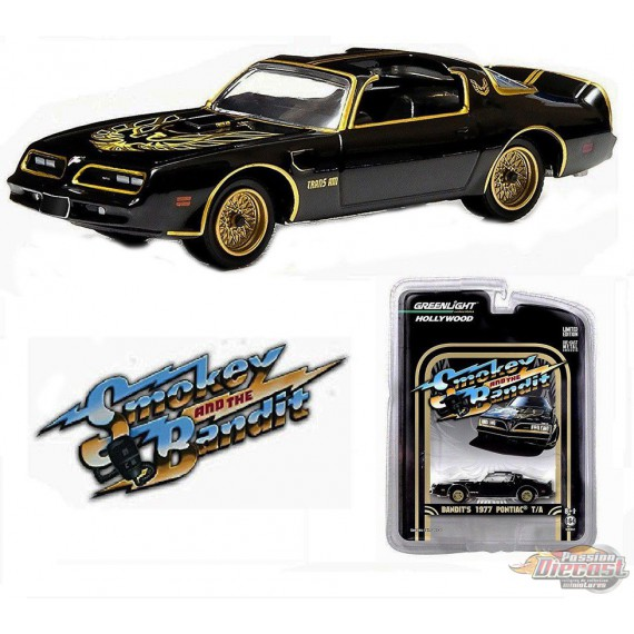 1977 Pontiac Trans Am Smokey and the Bandit  Greenlight 1/64 44710 A Passion Diecast