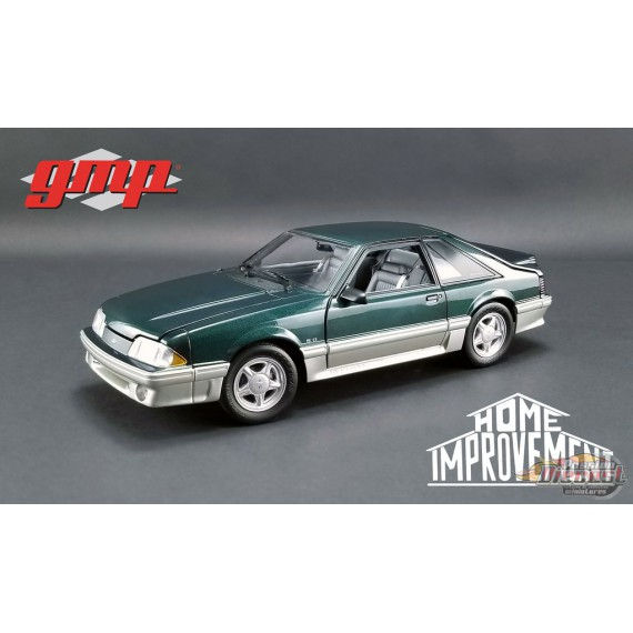 1991 Ford Mustang GT -  Deep Emerald Green Home Improvement  GMP 1/18  18920   Passion Diecast