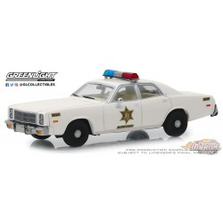 1975 Plymouth Fury -Hazzard County Sheriff  Greenlight 1/43   86558 PASSION DIECAST