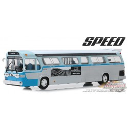 1960s General Motors TDH no 2525 Los Angeles,  Downtown Bus - Speed - Greenlight 1/43 86544 PASSION DIECAST