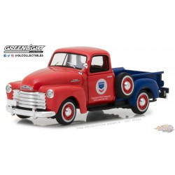 1953 Chevrolet 3100 Pickup Standard Oil  - Running on Empty  1 -  Greenlight 1/43 87010 B  Passion Diecast