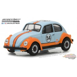 1966 Volkswagen Beetle  Gulf Oil Racer - Running on Empty  1 -  Greenlight 1/43 87010 D  Passion Diecast