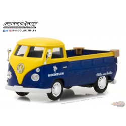 Volkswagen Type 2 (T1) Pickup Michelin Tires  - Running on Empty  1 -  Greenlight 1/43 87010 E  Passion Diecast