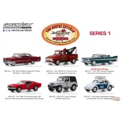 Busted Knuckle Garage Series 1   Assortment  1-64  Greenlight 39010  Passion Diecast
