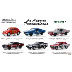 La Carrera Panamericana  Series 1   Assortment 1-64  greenlight 13240  Passion Diecast