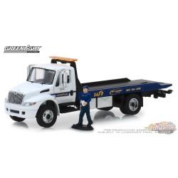 2013 International Durastar Flatbed - Goodyear Roadside Service  H.D. Trucks Series 16  1/64 Greenlight 33160 C Passion Diecast