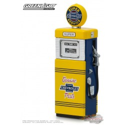Chevrolet Super Service  1951 Wayne 505  Gas Pump   Series 5 -  Greenlight  1/18 14060 B Passion Diecast