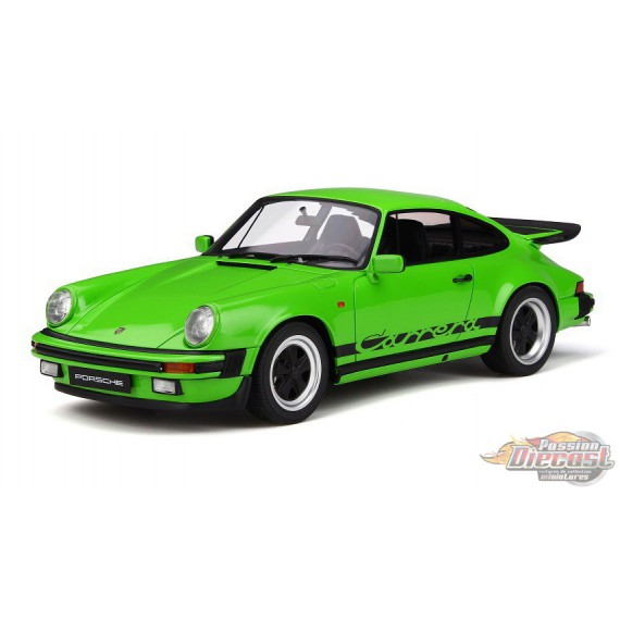 Porsche 911 3.2 Carrera 1974 Lime green   GT SPIRIT GT740  Passion Diecast