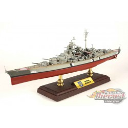 KMS Bismarck Battleship Kriegsmarine, Battle of the Denmark Strait, May 1941 1:700 Forces of Valor  861006A  Passion Diecast
